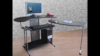 Simple Computer Desk | Comfort Products 50-100705 Regallo Expandable Computer Desk