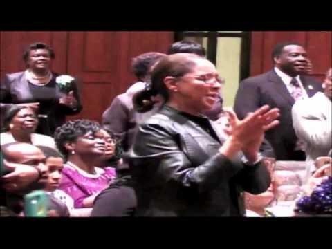 Testimony Praise Break And Pastor Charles Jenkins at Mother Rivers 91st Birthday Celebration