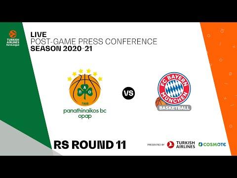 Panathinaikos BC OPAP - FC Bayern Munich | Post-Game Press Conference