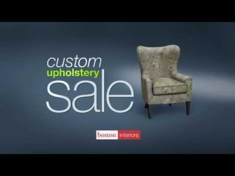 Custom Upholstery Sale | September 2015