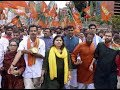 केरल: BJP की यूथ विंग ने पिनारई विजयन सरकार के खिलाफ किया वि�