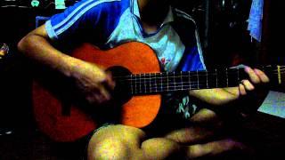 Dấu phố em qua - guitar cover