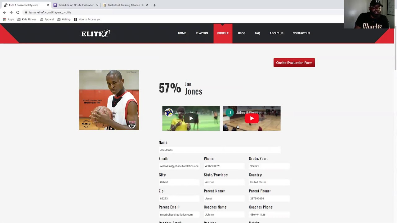 A closer look at the features of the Elite 1 Basketball System with creator Wayne Dawkins.