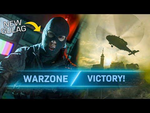 COD Warzone - New Gulag & Victory on Rebirth Island!