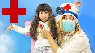 Додо НЕ ХОЧЕТ идти в детский сад. Обхитрила доктора?! Играем в Доктора.