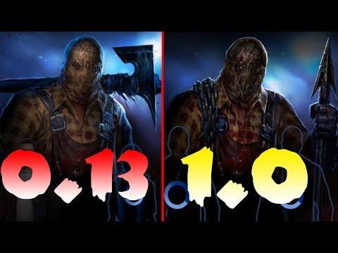 Сравнение Старой и новой версии Horrorfield Multiplayer Survival Horror Game! 0.13 и 1.0