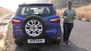 Ford Ecosport   Know Your Car   Opening Boot