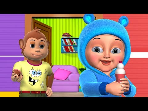 Johny Johny Yes Papa Nursery Rhyme | Part 2 - 3D Animation Rhymes & Songs for Children
