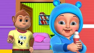 Johny Johny Yes Papa Nursery Rhyme  Part 2 - 3D Animation Rhymes & Songs for Children