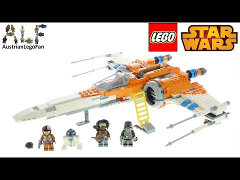 LEGO Star Wars 75273 Poe Dameron's X-wing Fighter - Lego Speed Build Review