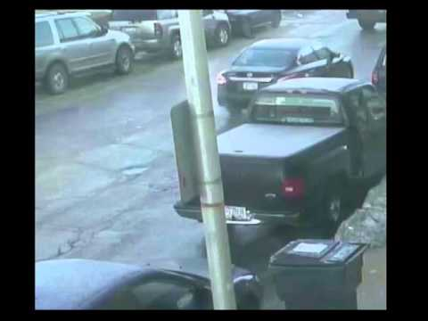 Robbed and run over: New video shows contractor confronting