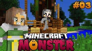 ENTKOMMEN WIR DER BÖSEN TANTE? ✿ Minecraft MONSTER #03 [Deutsch/HD]
