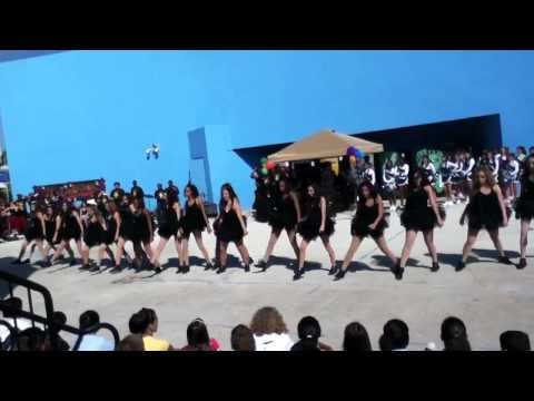 Somerset Academy Varsity Dance Team Black History Month Peprally