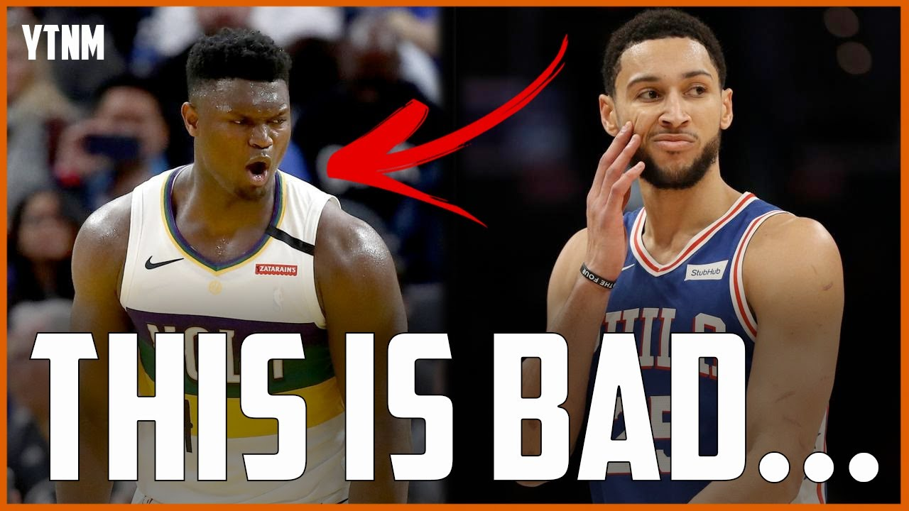 Download Zion Williamson Is FAR MORE Concerning Than Ben Simmons...   Your Take, Not Mine