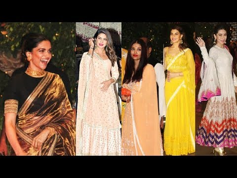 Celebrities Traditional Look At Ambani's Grand Ganpati Party 2017, thumbnail
