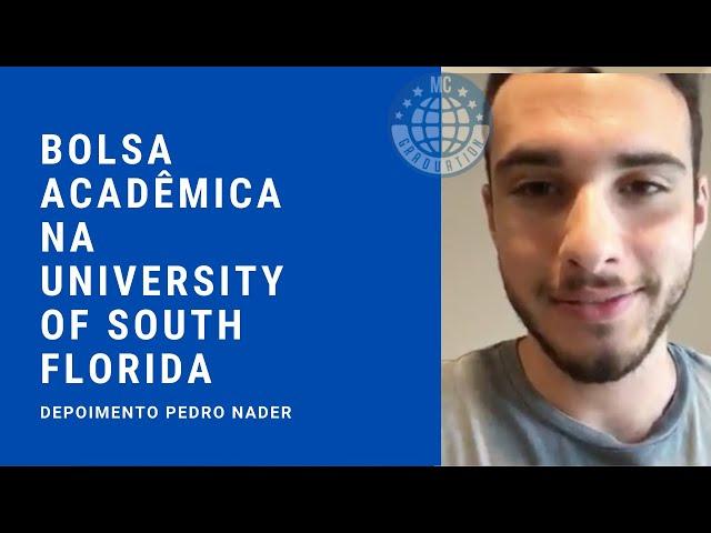 Bolsa Acadêmica na University of South Florida