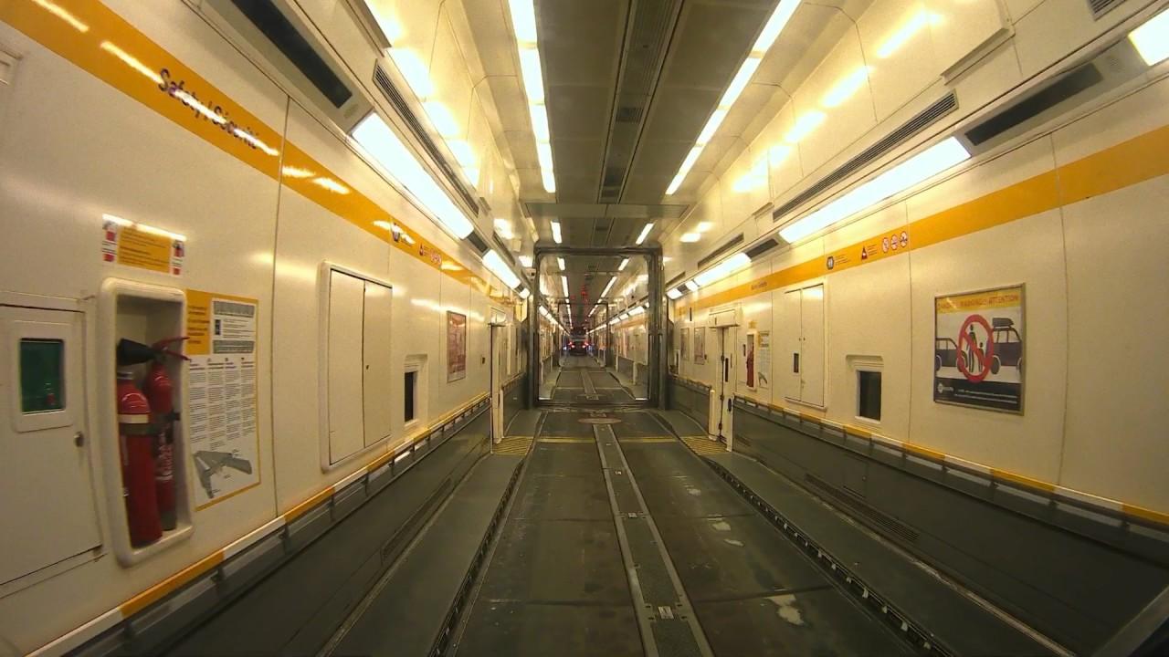 Boarding the train calais eurotunnel youtube for Max garage calais