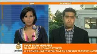 POWERFUL 7.8 EARTHQUAKE STRIKES IRAN_PAKISTAN BORDER TODAY A