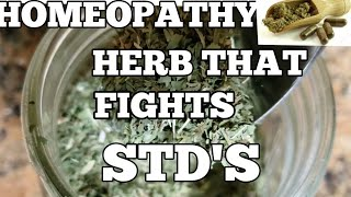 HOMEOPATHY...???? THE HERB THAT FIGHTS AGAINST STD'S