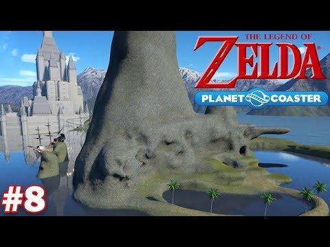 Let's Build a Legend of Zelda Roller Coaster - Part 8 (Dragon Roost Island)