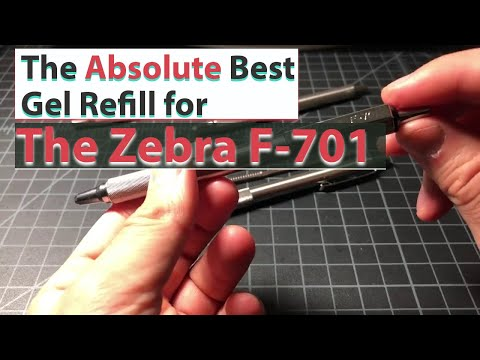 The Absolute Best Gel Refill For The Zebra F-701