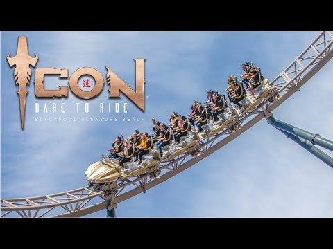 ICON Media Launch Vlog May 2018 Blackpool Pleasure Beach
