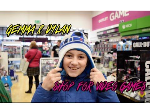 Taking my nephew Video Game shopping!! (TheGebs24)