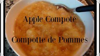 Apple Compote - Compote De Pommes