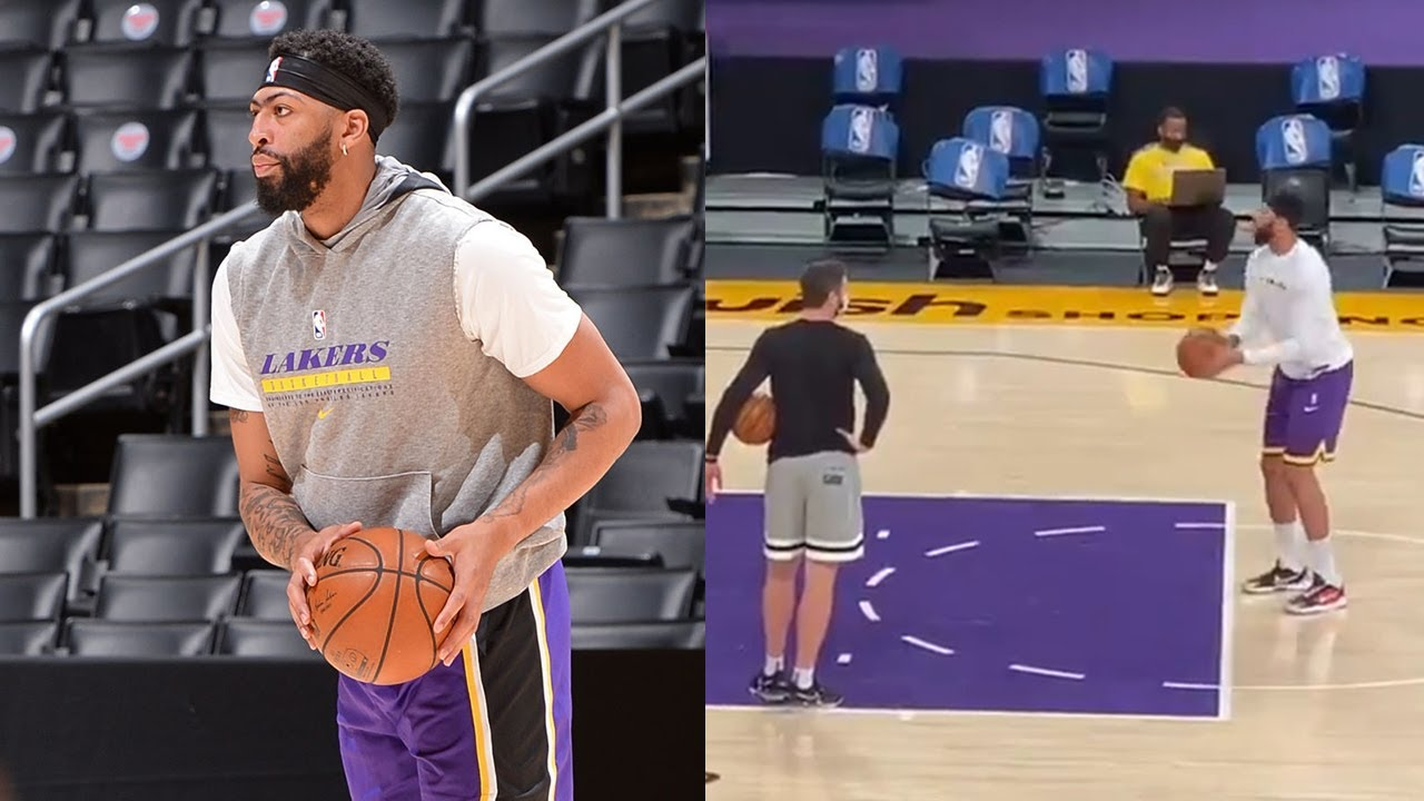 Anthony Davis improves his shooting ahead of his return