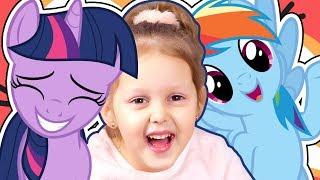 ТРАВЕНЬ ЛІТЛ ПОНІ Сутінкова Іскорка і Веселка Деш Порятунок поні з My Little Pony