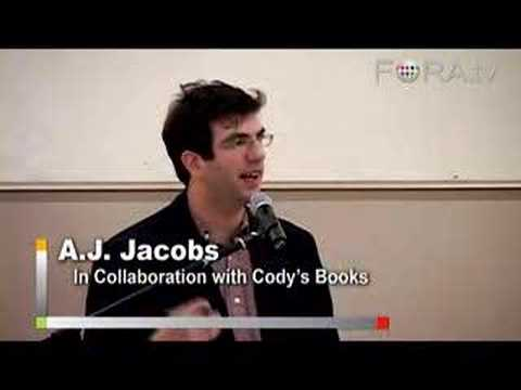 A.J. Jacobs - The Year of Living Biblically