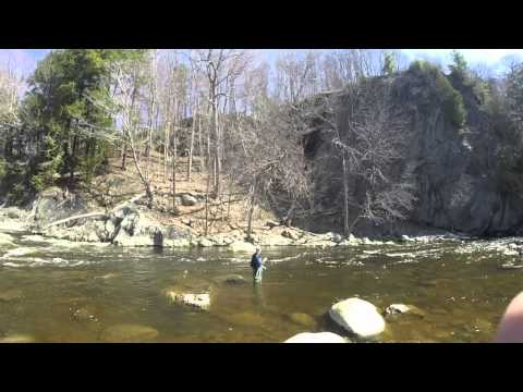 Brook Trout Mayhem! University Of Maine Fishing Club : GoPro : 720p