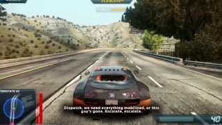 Need For Speed Most Wanted 2012 Epic Bugatti Police Chase