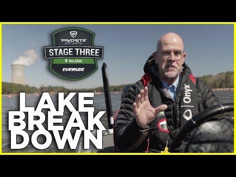 Breaking Down Shearon Harris Lake With Marty Stone