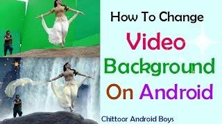 How To Change Video Background & Green Screen Tutorial! Telugu