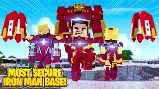 MOST SECURE SUPERHERO BASE CHALLENGE VS LITTLE LIZARD & SCUBA STEVE w/Tinyturtle