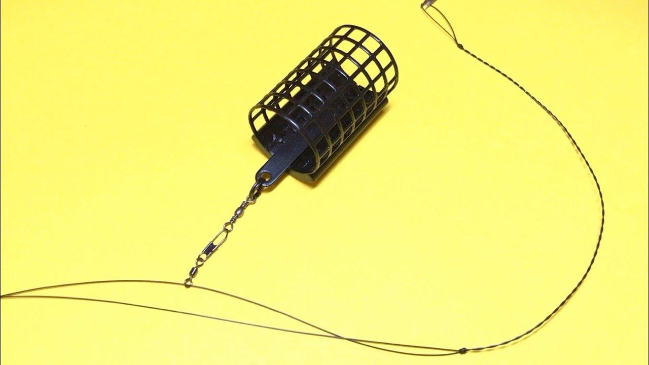 Фидерная оснастка симметричная петля | лучшая снасть на карася | фидер для начинающих | рыбалка 2020