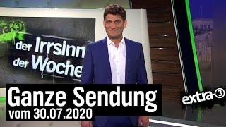 Extra 3 vom 30.07.2020 mit Christian Ehring