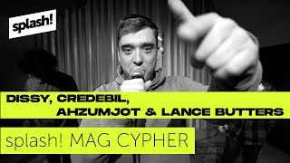 splash! Mag Cypher #23: Dissy, Credibil, Ahzumjot & Lance Butters @ Red Bull Studios Berlin (Archiv)