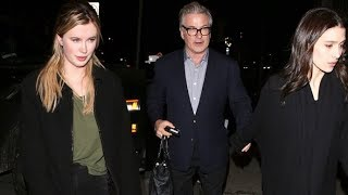 Ireland Baldwin Dines With Dad Alec And Stepmom Hilaria In WeHo