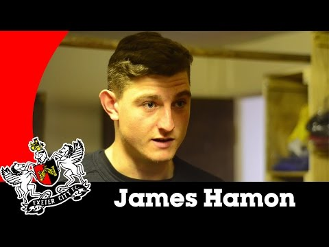 James Hamon looks ahead to a visit to Luton | Exeter City Football Club