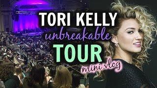 VLOG   Tori Kelly Unbreakable Tour   Finger Coil Style   No Cameras Allowed?!