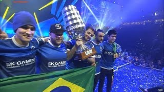 SK gaming ESL One 2016 World Champion! Winning moment vs. Liquid in Grand-final. #AfterGame CAMPEÃ