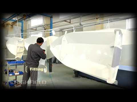 Производство алюминиевых рибов Highfield