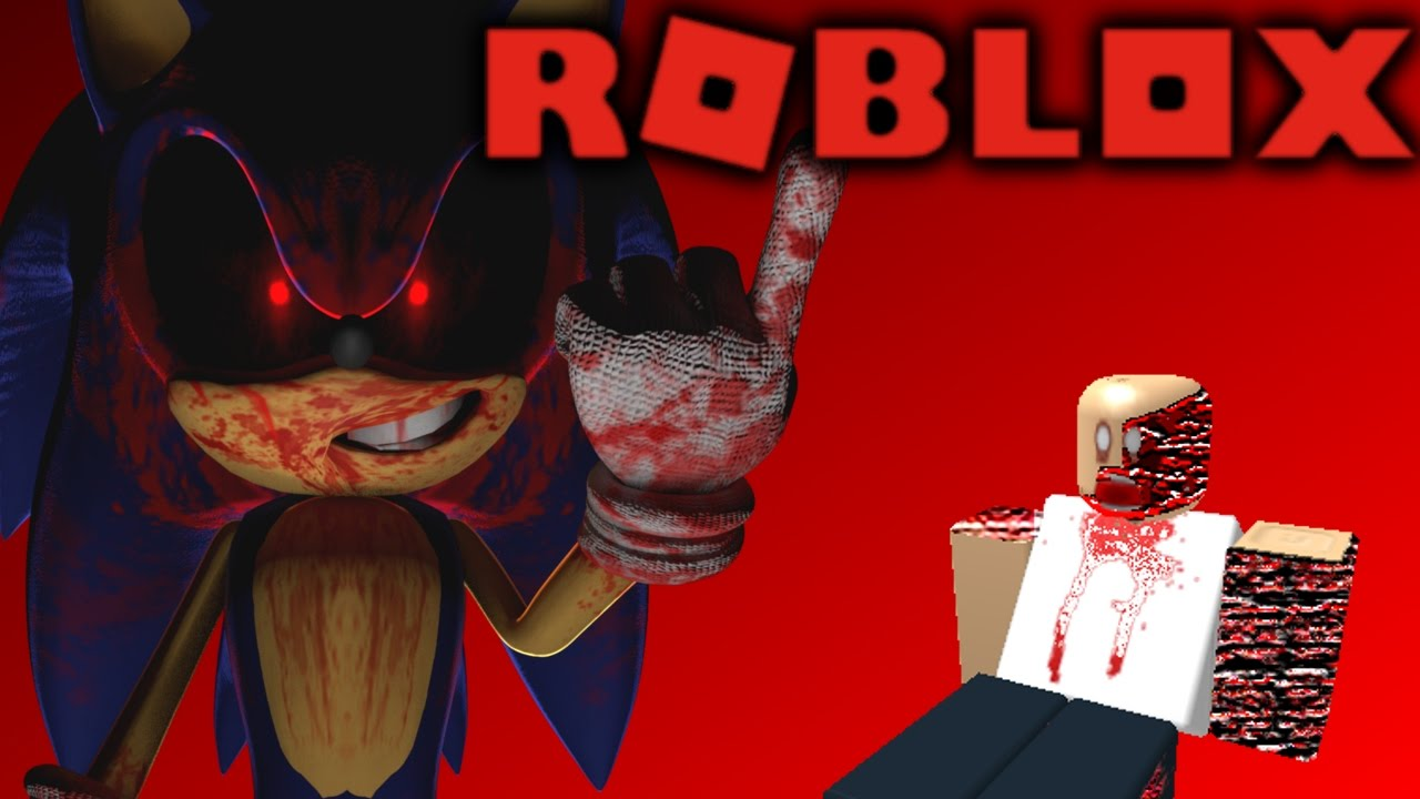 sonic exe took over roblox