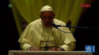 Przemówienie papieża Franciszka wygłoszone podczas spotkania z kapłanami i osobami konsekrowanymi