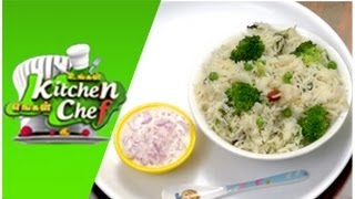 Green Peas Broccoli Pulao – Ungal Kitchen Engal Chef (27/02/2015)