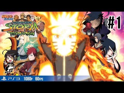 Naruto Shippuden Ultimate Ninja Storm Revolution[Pt1]: ผู้ที่แข็งแกร่งที่สุดของโลกนินจา