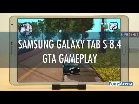 Samsung Galaxy Tab S 8.4 GTA San Andreas Gameplay