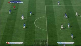 2010 FIFA World Cup Gameplay (PS3) - England vs Argentina